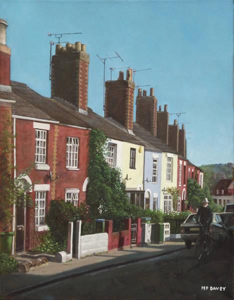 Wall Art - Painting - Southampton Rockstone Lane by Martin Davey