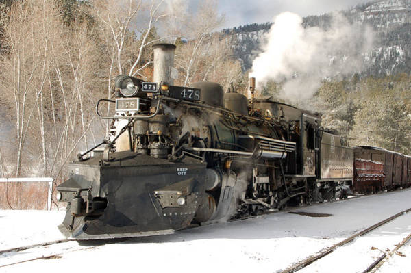 K-28 Photograph - Southbound Through Rockwood by Ken Smith