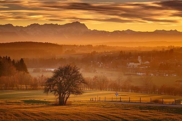 Wall Art - Photograph - Southern Bavaria by Bjoern Kindler