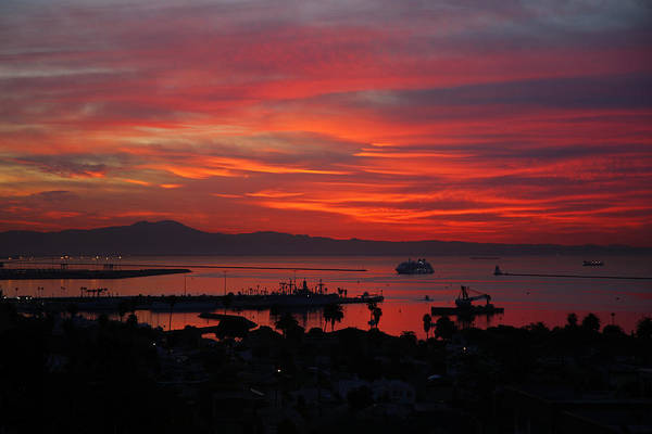 Photograph - Southern California Sunrise by Steve Wolfe