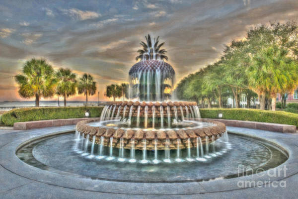 Photograph - Southern Charm Pineapple by Dale Powell