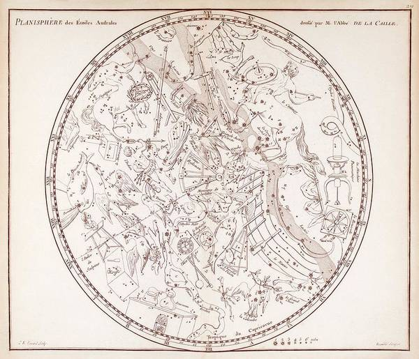 Wall Art - Photograph - Southern Constellations by Science, Industry And Business Library/new York Public Library/ Science Photo Library