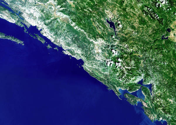 Wall Art - Photograph - Southern Croatia by Planetobserver/science Photo Library