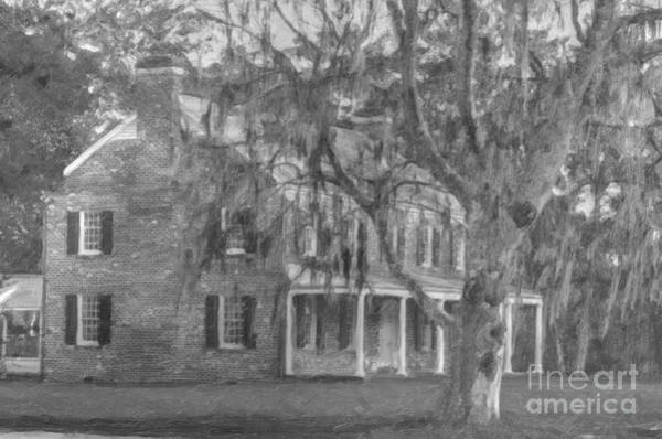 Digital Art - Southern Home by Dale Powell