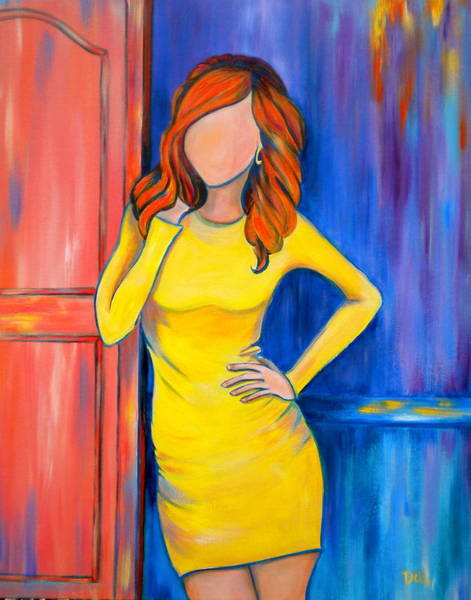 Faceless Painting - Southern Hospitality by Debi Starr