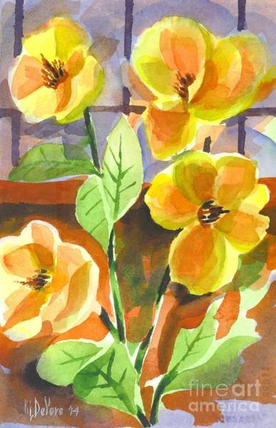 Painting - Southern Magnolias by Kip DeVore
