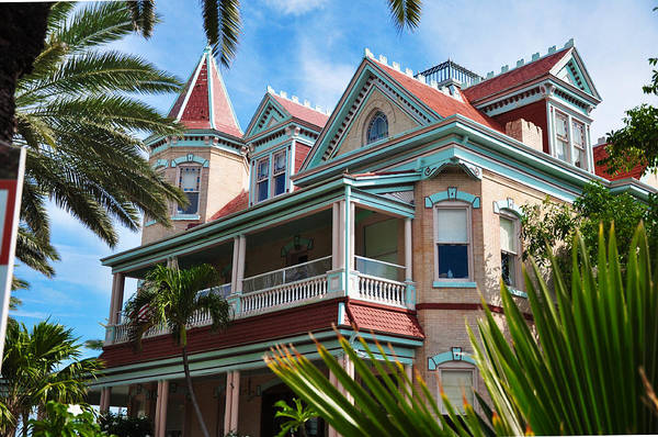 Photograph - Southern Most House - Key West Florida by Bill Cannon
