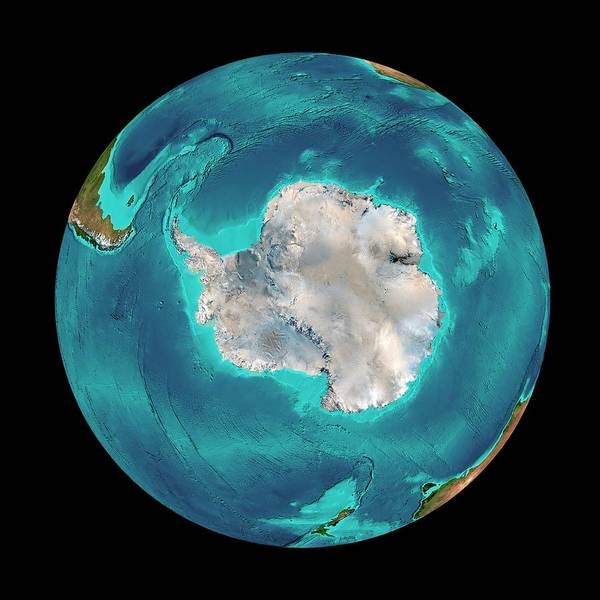 Southern Hemisphere Wall Art - Photograph - Southern Ocean by Martin Jakobsson/science Photo Library