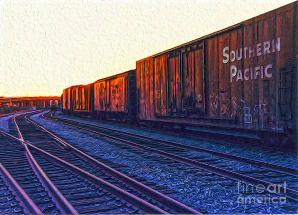 Painting - Southern Pacific by Gregory Dyer