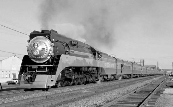 Southern Pacific Train In Texas Art Print