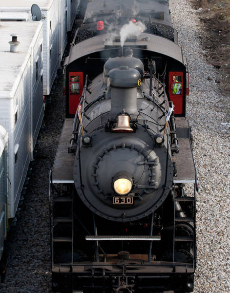 Photograph - Southern Railway #630 Steam Engine by Denise Beverly