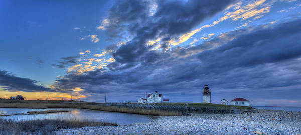 Coast Guard House Photograph - Southern Ri Sunrise by Jeff Bord