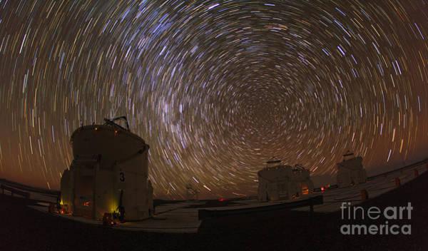 Photograph - Southern Sky Rotation by Babak Tafreshi