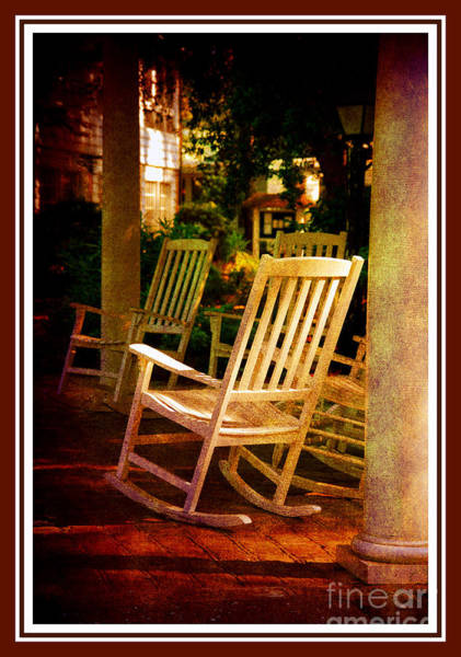 Sunday Afternoon Wall Art - Photograph - Southern Sunday Afternoon by Susanne Van Hulst