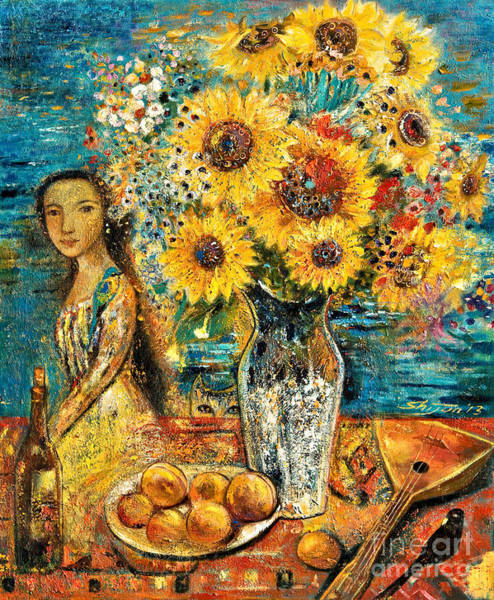 Painting - Southern Sunshine by Shijun Munns