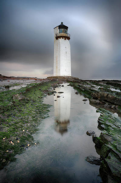 Photograph - Southerness Lighthouse by Grant Glendinning