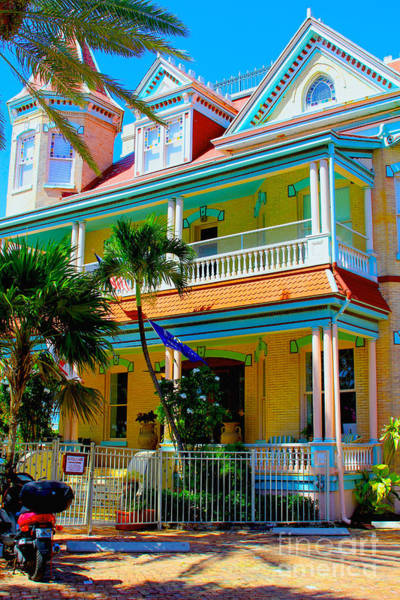 Wall Art - Photograph - Southernmost House by Carey Chen
