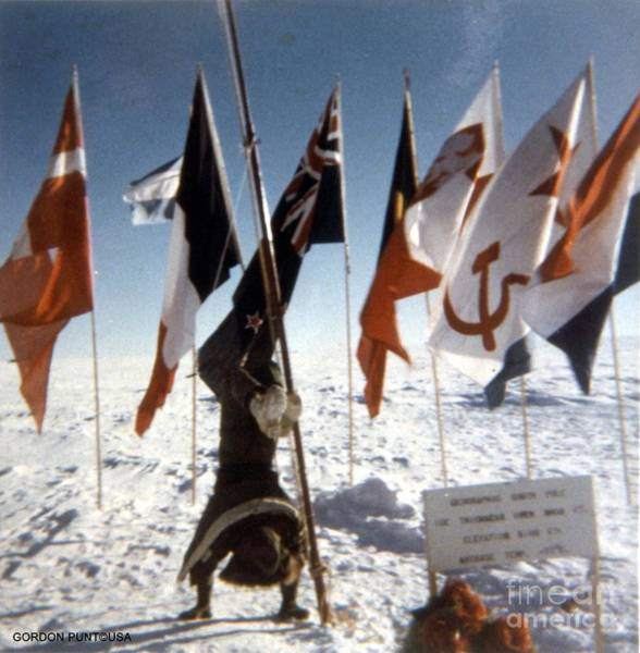 Photograph - Southpole-antarctica-photos-2 by Gordon Punt