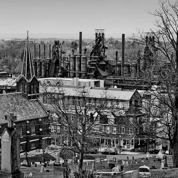 Bethlehem Photograph - Southside by DJ Florek