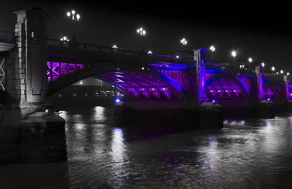 Wall Art - Photograph - Southwark Bridge London by David Pyatt