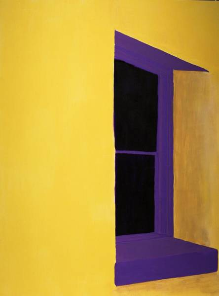 Adobe Walls Painting - Southwest Contemporary Art - The Purple Window by Karyn Robinson