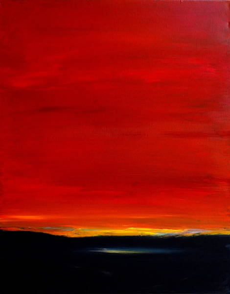 Valley Of Fire Painting - Southwest Desert Sunrise by Katy Hawk