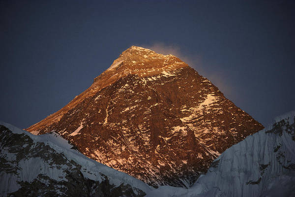Photograph - Southwest Face Of Mt Everest Nepal by Colin Monteath