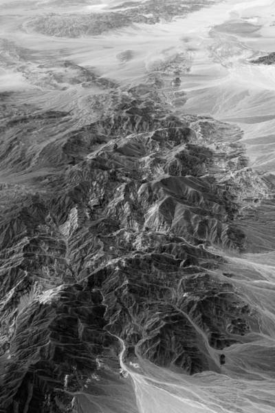 Photograph - Southwestern Deserts In Black And White by Photography  By Sai