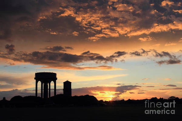 Water Towers On Southwold Common Art Print