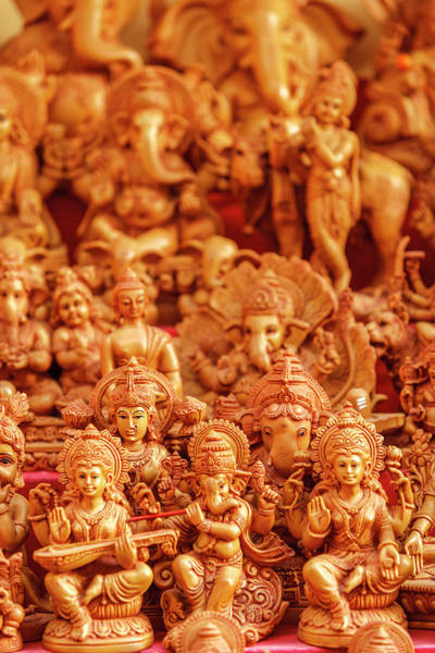 Hindu Photograph - Souvenir Sculptures, India by Ali Kabas