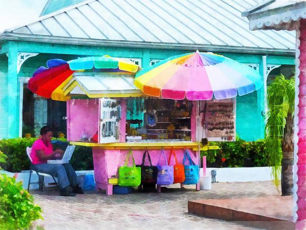 Photograph - Souvenir Stand Port Lucaya Marketplace by Susan Savad
