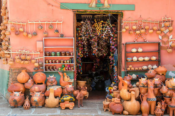 Boyaca Photograph - Souvenirs In Raquira by Jess Kraft