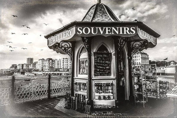 Photograph - Souvenirs On The Pier by Chris Lord