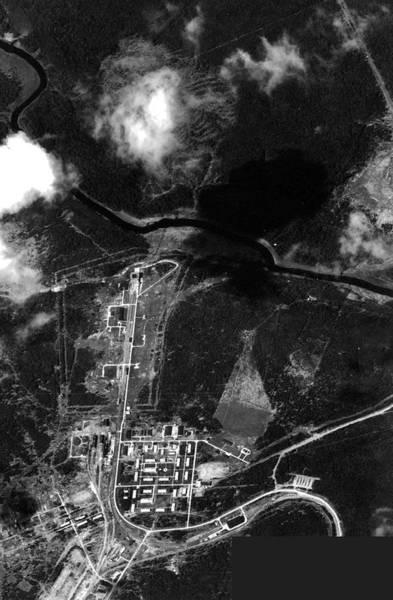 Reconnaissance Photograph - Soviet Missile Launch Site by National Reconnaissance Office