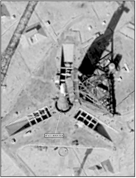 Reconnaissance Photograph - Soviet Missile Test Site by National Reconnaissance Office