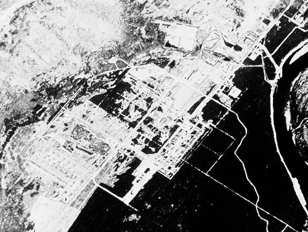 Reconnaissance Photograph - Soviet Rocket Factory by National Reconnaissance Office