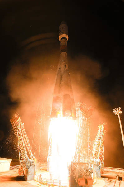 Photograph - Soyuz Vs06 Lifting Off by Science Source