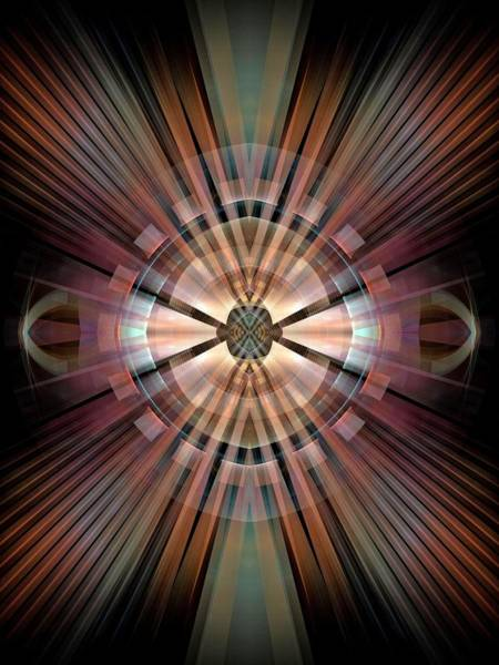 Dive Bar Digital Art - Space-1-panel-1-left-and-rightbb by Bill Campitelle