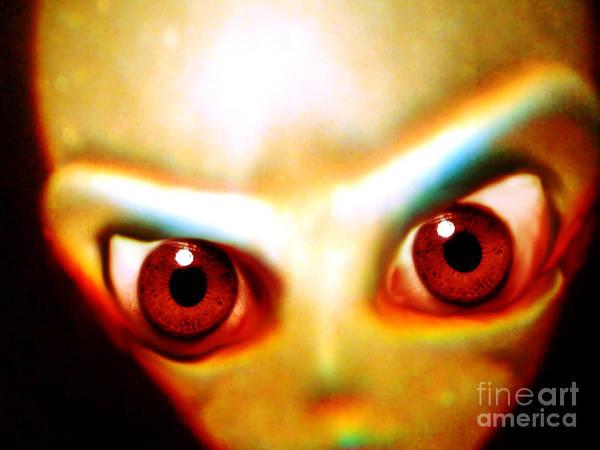 Photograph - Space Alien by John Chumack