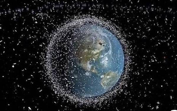 Wall Art - Photograph - Space Junk by Science Source