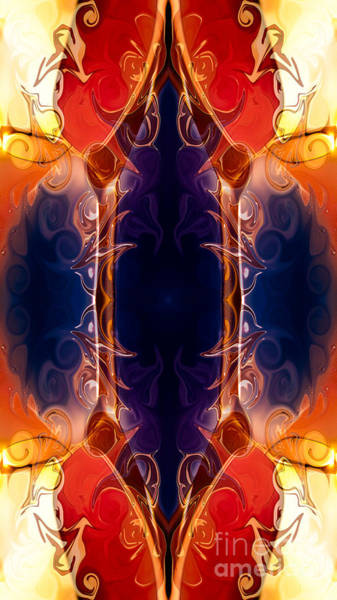 Digital Art - Space Needle Abstract Pattern Artwork By Omaste Witkowski by Omaste Witkowski