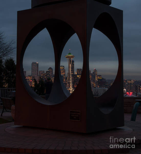 Photograph - Space Needle by Eddie Yerkish