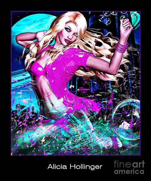 Digital Art - Space Order Bride 3015 by Alicia Hollinger