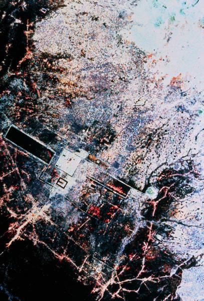 Wall Art - Photograph - Space Radar Image Of Angkor by Nasa/science Photo Library