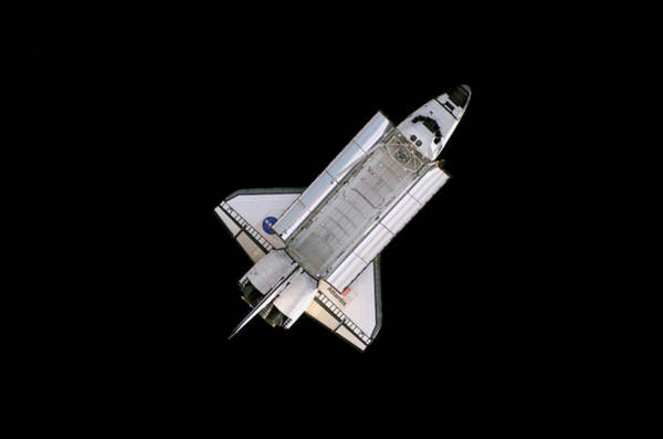 Space Shuttle Photograph - Space Shuttle Atlantis by Nasa/science Photo Library