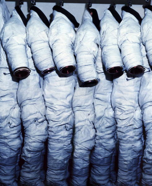 Unit Photograph - Space Suits by Science Photo Library