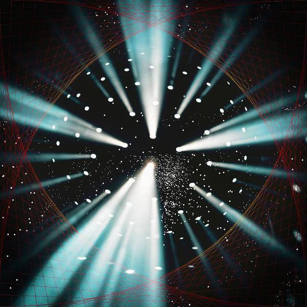 Deep Space Mixed Media - Space Time Warp by John Haldane