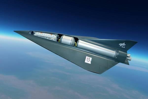 Delta Wing Photograph - Spaceliner Transport by Detlev Van Ravenswaay