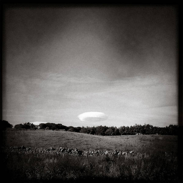 Iphoneography Wall Art - Photograph - Spaceship by Dave Bowman