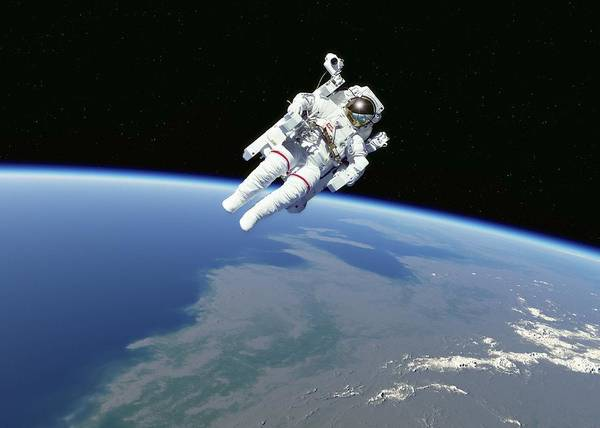 Wall Art - Photograph - Spacewalk by Science Photo Library